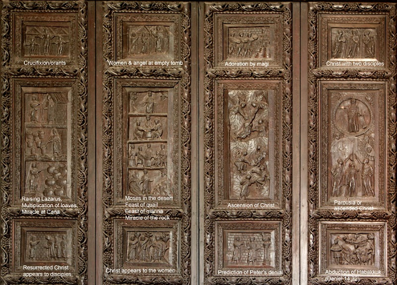 Charmant Door Panels Of Santa Sabina